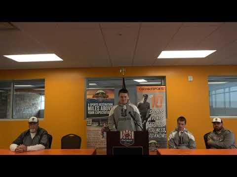 Patriot Bowl Media Day - Evan Brazil - Thomas Heyward Academy