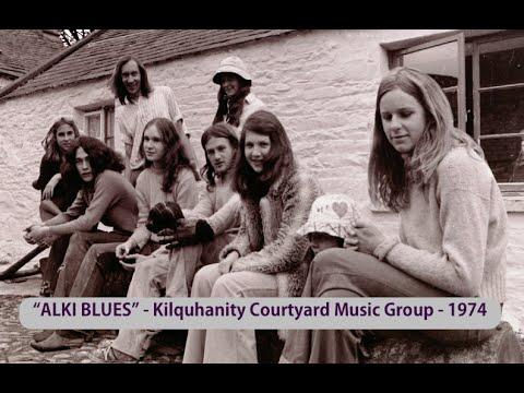 Mega Rare Vinyl Record ALKI BLUES by Courtyard Music Group 1974