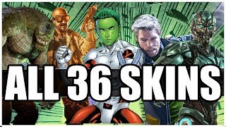 Premier Skins For ALL 36 Characters In Injustice 2 Chosen by The Community!