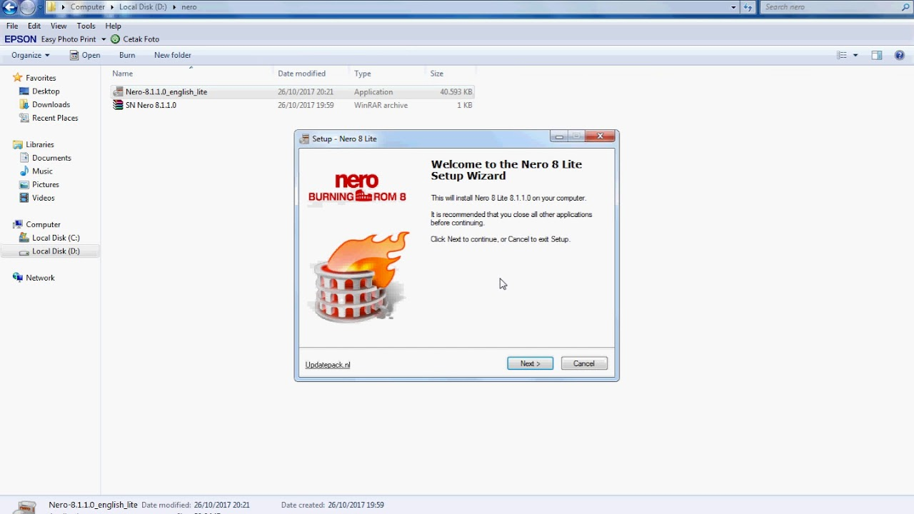 nero 8 ultra edition free download crack