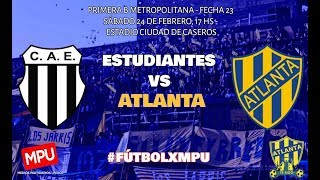 Sportivo Estudiantes vs Almagro full match