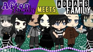 Afton family meets Addams family // Halloween Special