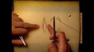 Punto simple de sutura