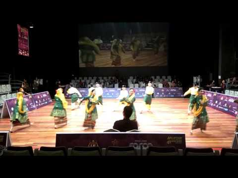 Nyala Dance Theater - Malaysian Sports Dance Competition 2017