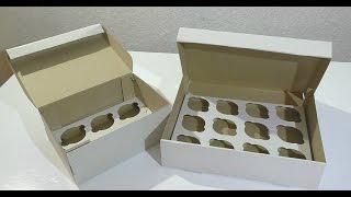 коробки для капкейков  Boxes for cupcakes