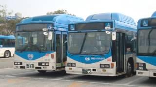 川崎市バス・CNGノンステップバス大集合