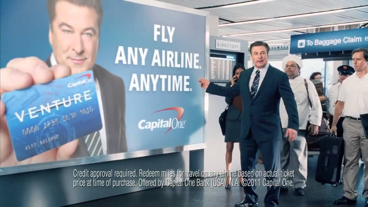 Capital One Venture Card Commercial - Airport - YouTube