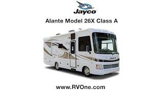 Jayco Alante Class A Model 26X