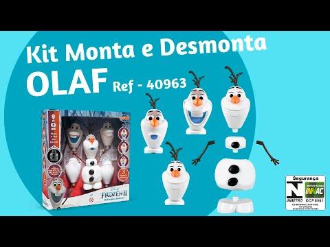 Olaf Monta e Desmonta Frozen 2 Disney - Toyng Brinquedos (REF 40963)
