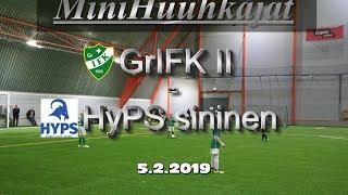 Mini Huuhkajat GrIFK 2 vs HyPS sininen