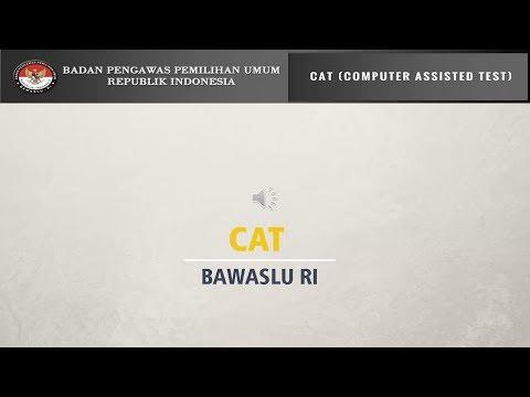 Tutorial CAT Bawaslu RI
