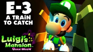 Luigi's Mansion Dark Moon - Treacherous Mansion - E-3 A Train to Catch (Nintendo 3DS Walkthrough)