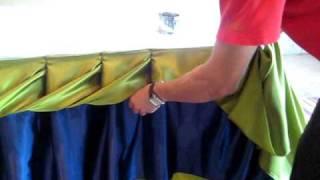 Repeat youtube video การจับผ้าแบบลายเกลียวสองชั้น - By Suppaluck