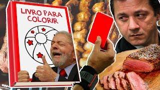 Fábio Rabin - Tretas do Brasil /  Livro do Lula / Joesley Solto / BBB / Notícias 2017 Video