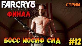 Far Cry 5 — Стрим Прохождение - Финал.Босс Иосиф Сид #12