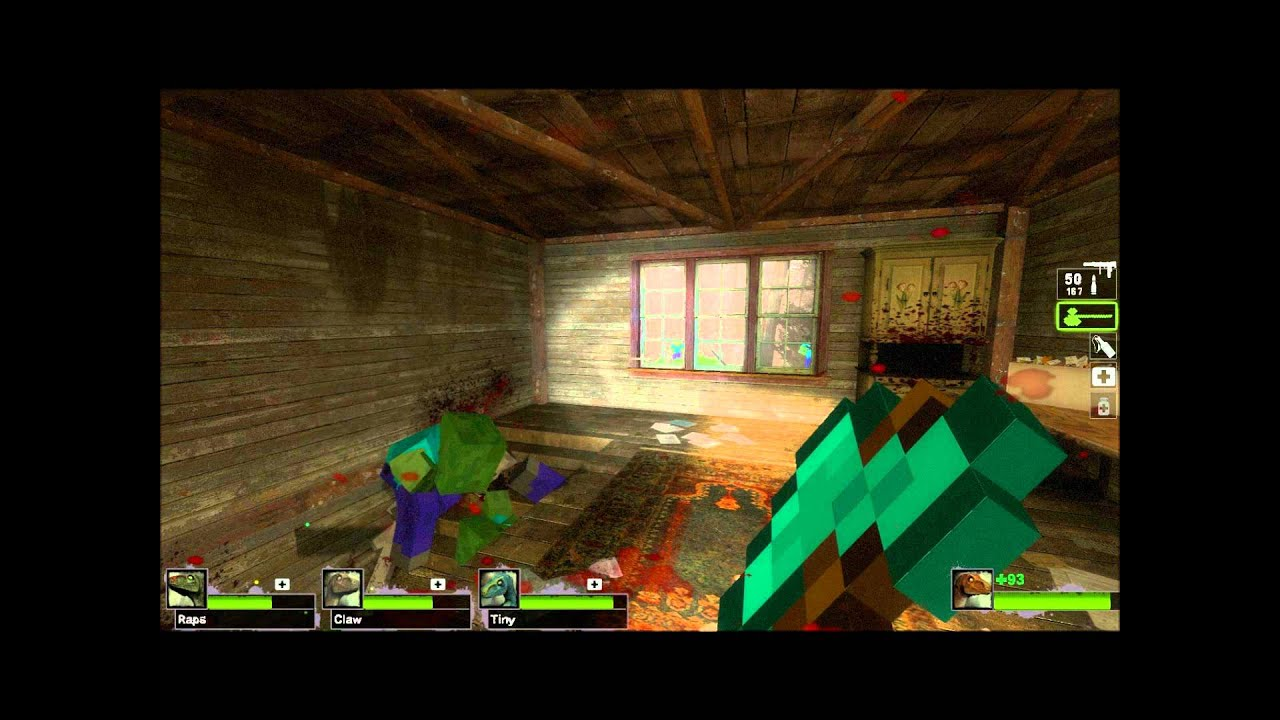 Left 8 Dead 8: Minecraft Zombies and Special Infected Pt 8 - YouTube