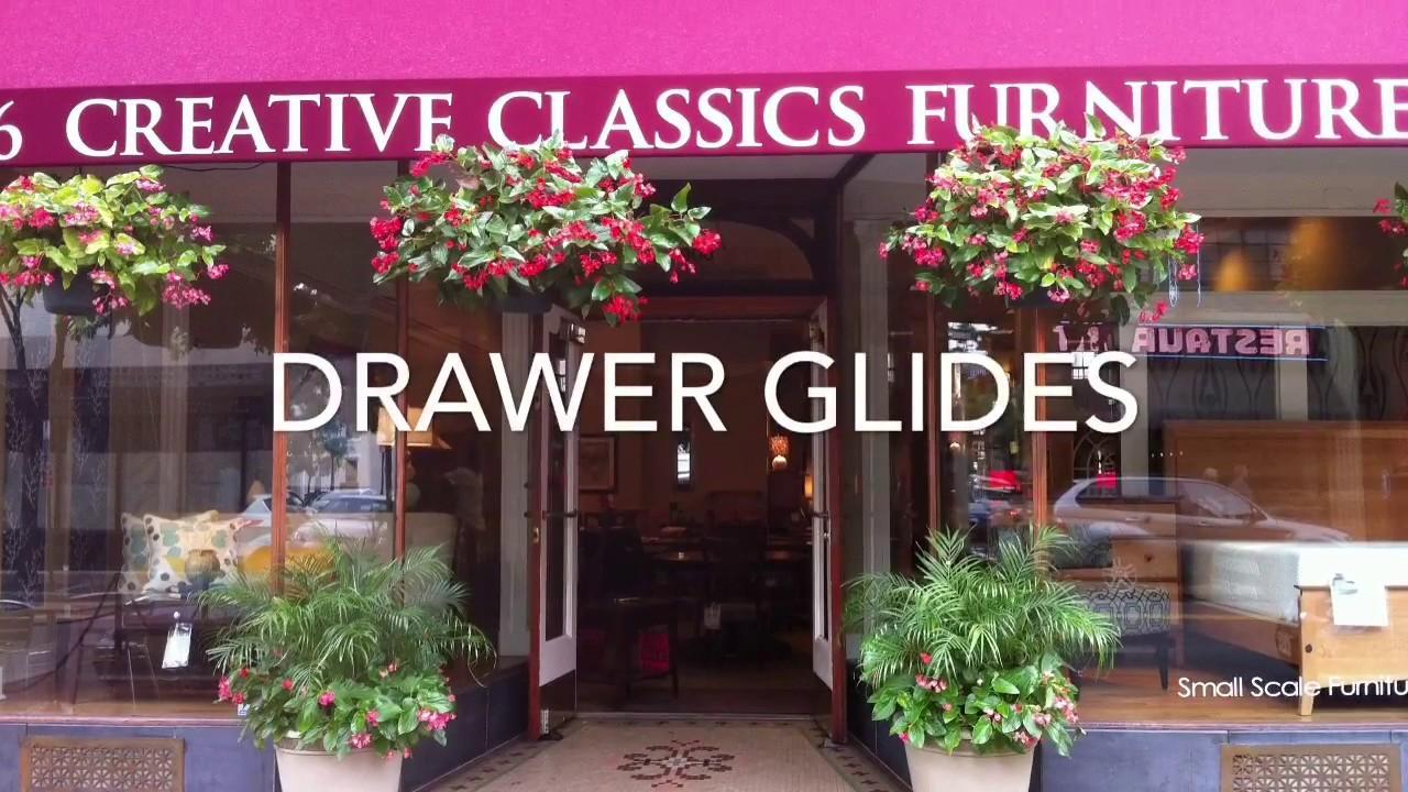 Drawer Glide Tutorial Furniture In Alexandria Va Creative Clics