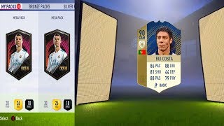 FIFA 18 COMPLETING  RUI COSTA ICON SBC😱& OPENING THE PACKS🤑