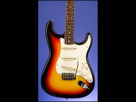 Jared James Nichols MAGIC on a 1966 Fender Stratocaster