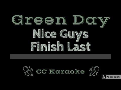 Green Day   Nice Guys Finish Last CC Karaoke Instrumental