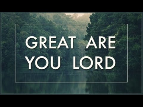 Great Are You Lord - Karaoke Track