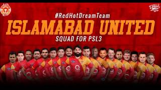 psl 2018 Islamabad United full squad | Islamabad United full squad for pakistan super league 2018