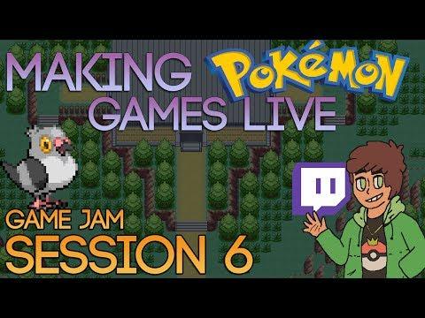 Making Pokemon Games Live (Game Jam Session 6)