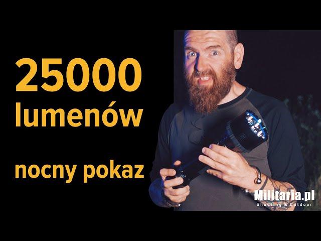 Latarka Olight X9R Marauder 25000 lumenów