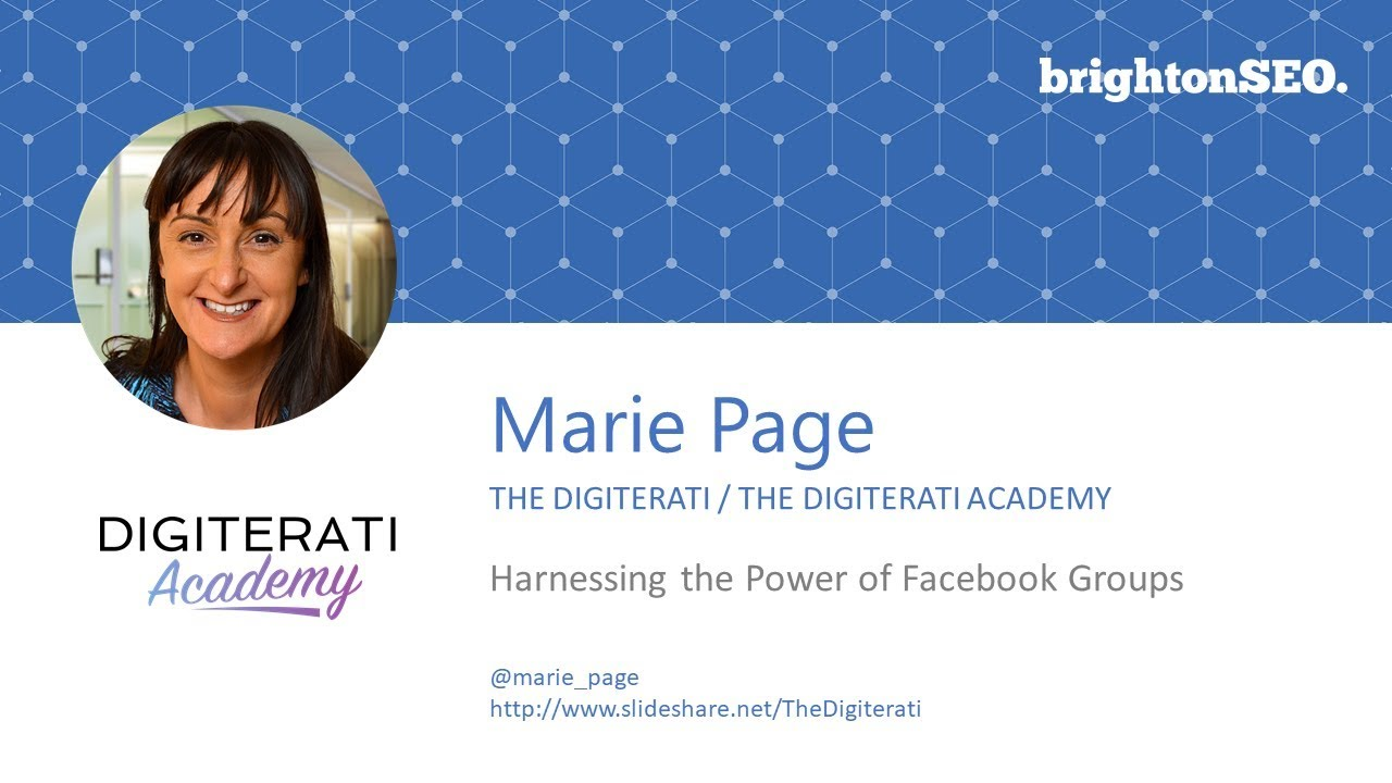 Harnessing the Power of Facebook Groups: Marie Page at