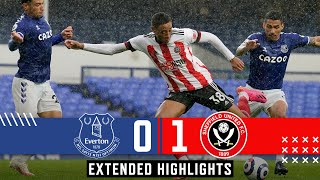Everton 0-1 Sheffield United  Extended Premier League Highlights