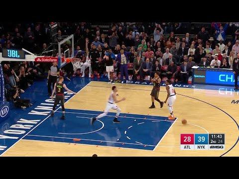 2nd Quarter, One Box Video: New York Knicks vs. Atlanta Hawks