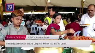 Rumah Terbuka Deepavali anjuran MIC