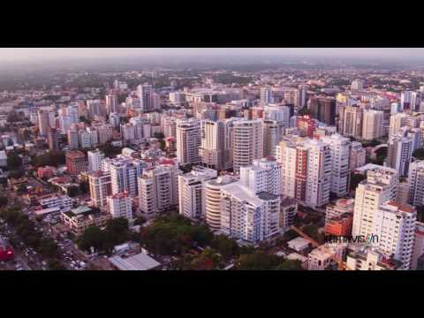 Ciudad de Santo Domingo, Rep. Dominicana (4k Drone View)