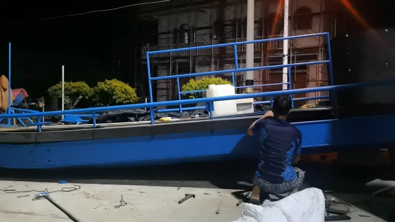 连着几天赶工做船花费3万3,明天就能开去塘屿岛,期待新的旅程