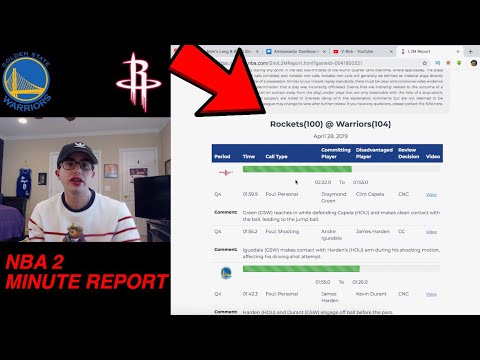 nba-2-minute-report-for-warriors-rockets-game-1!!-missed-calls??-was-it-rigged??