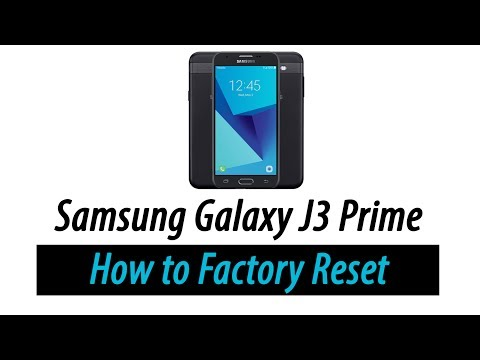 Mobile Info: Samsung Galaxy J3 Emerge Reset