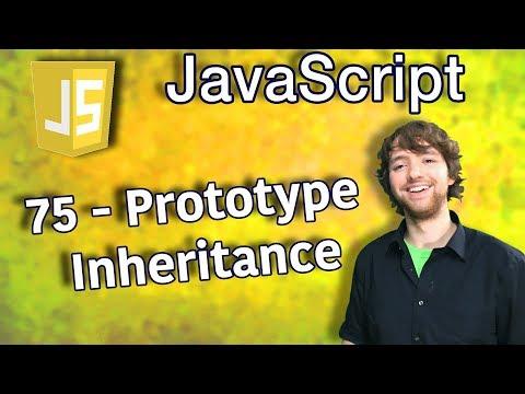 JavaScript Programming Tutorial 75 - Prototype Inheritance thumbnail