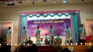 JOHAN Festival Nasyid Sekolah Peringkat Negeri Johor 2014 - Soutul Amal (Johor Bahru)