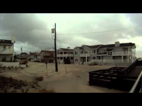 Hurricane Sandy Aftermath Ocean City
