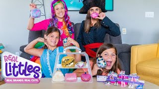 Twins Help Princess Lollipop SAVE Real Littles Toys from the Pirate Witch