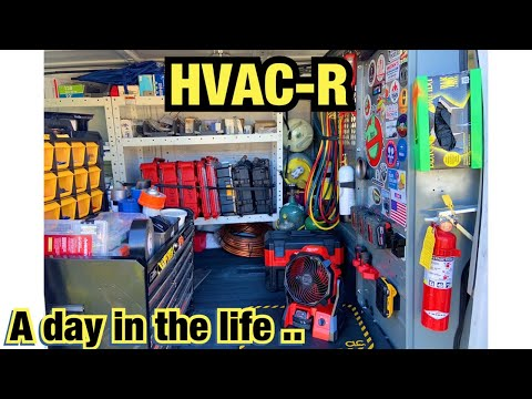 hvac-r-vlog.-/-a-day-in-the-life-/-ac-down-/plus-ice-machne-leaking-water