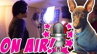 Ich im Tonstudio -Ich gehe fremd - Cutie Dog