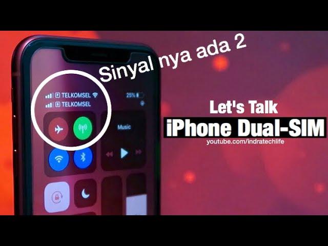 Review Dual Sim Iphone Pake Kartu Sim Indonesia By Itechlife Youtube