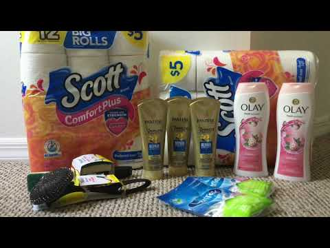 Walgreens Haul 5/26- 6/01 Cheap Paper Product + More!