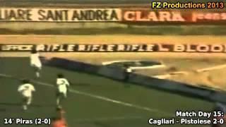 Serie A 1980/1981: Cagliari Calcio All Goals