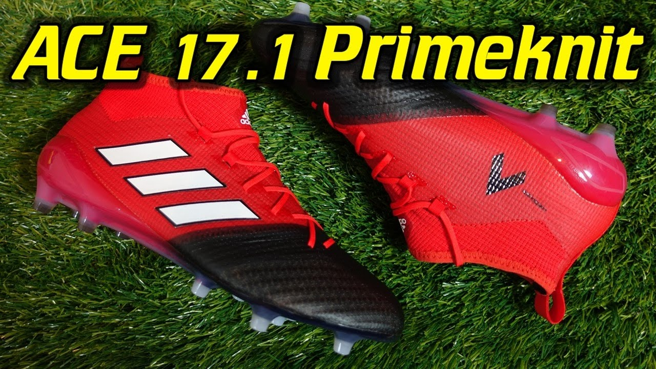 reputable site e7820 a5f08 Adidas ACE 17.1 Primeknit (Red Limit Pack) - Review + On Feet
