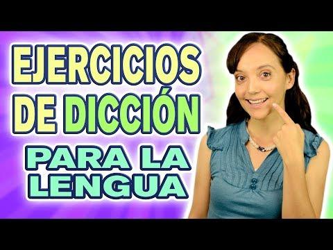 EJERCICIOS DE DICCIÓN PARA LA LENGUA | CECI SUAREZ Clases de Canto