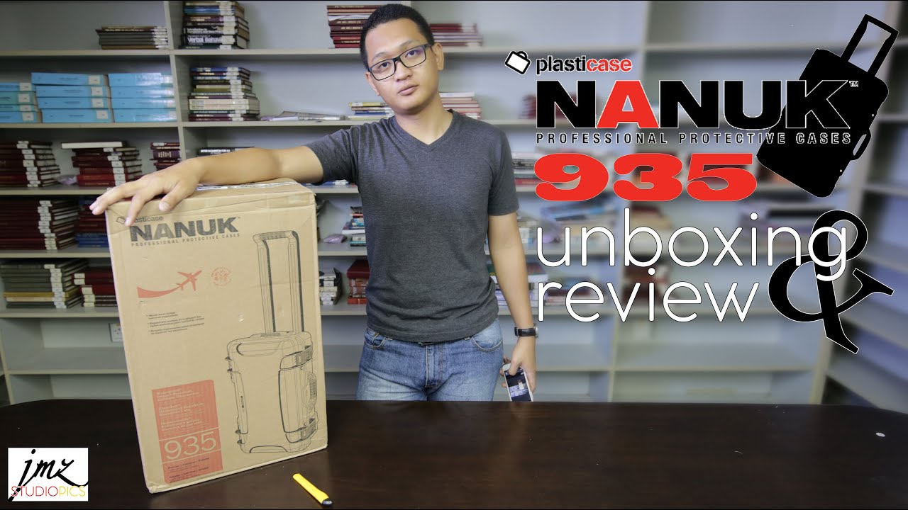 Plasticase Nanuk 935 Unboxing Review Youtube 940 Padded Divider Insert For Case
