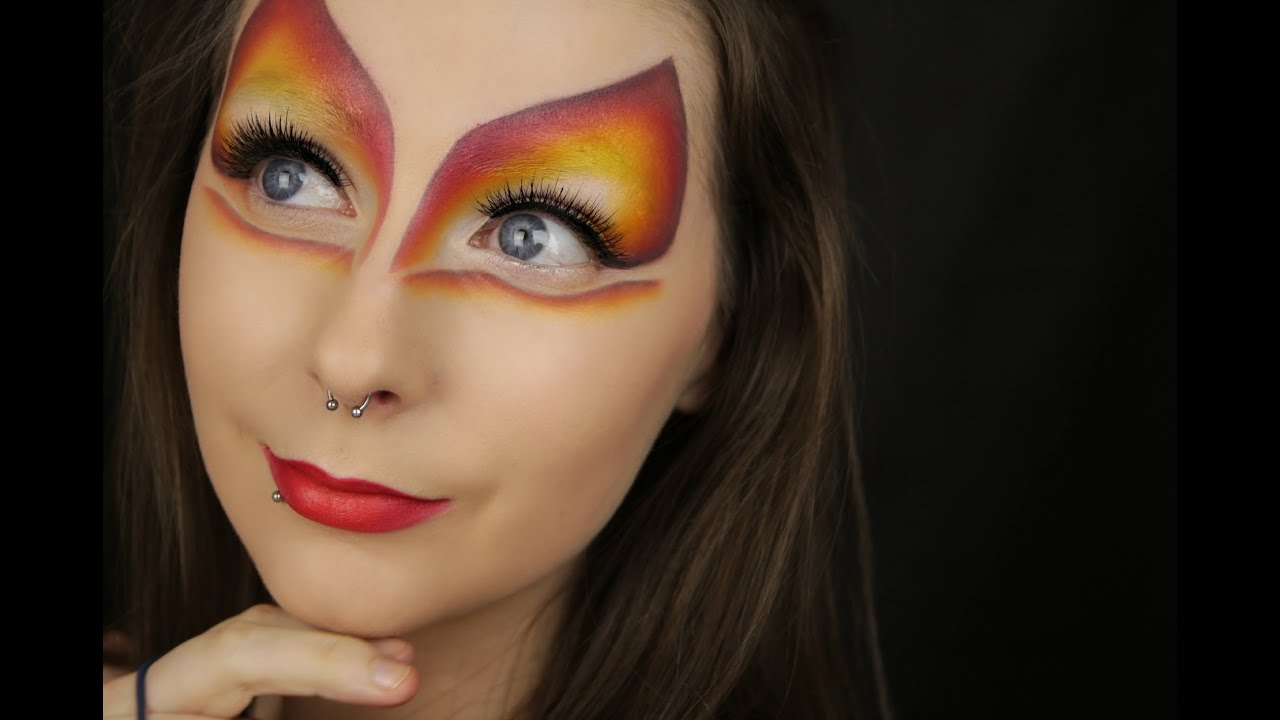 Cirque du Soleil Inspired Makeup - YouTube