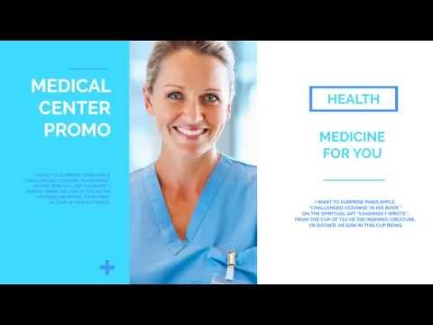 Medical Presentation // Medical Healthcare - After Effects Template